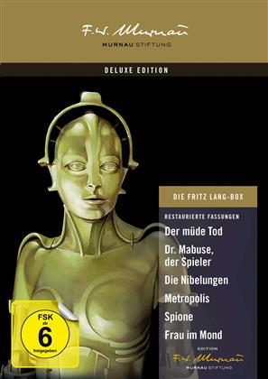 Die Fritz Lang Box (Deluxe Edition, 9 DVD)
