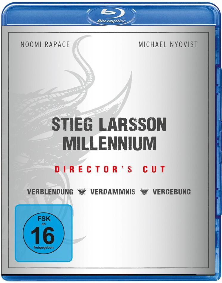 Millennium Trilogie (Director's Cut, 3 Blu-rays)