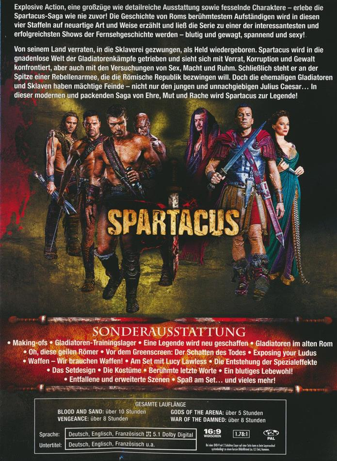 Spartacus - Blood and Sand / Gods of the Arena / Vengeance