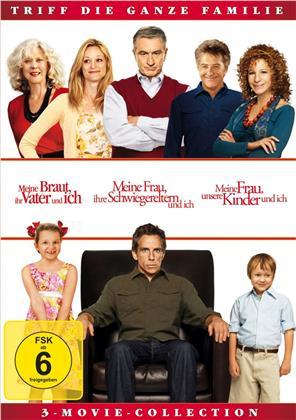 Meine Braut, ihr Vater und ich / Meine Frau, ihre Schwiegereltern und ich / Meine Frau, unsere Kinder und ich - 3-Movie-Collection (3 DVDs)