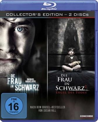 Die Frau in Schwarz (2011) / Die Frau in Schwarz 2 (2014) (Collector's Edition, 2 Blu-rays)