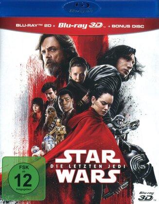 Star Wars - Episode 8 - Die letzten Jedi (2017) (Blu-ray 3D + Blu-ray)