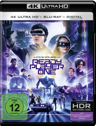 Ready Player One (2018) (4K Ultra HD + Blu-ray)