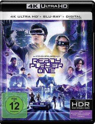 Ready Player One (2018) (4K Ultra HD + Blu-ray)