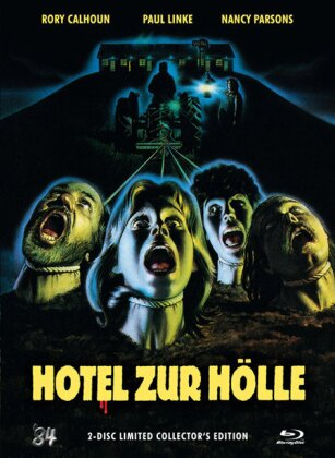 Hotel zur Hölle (1980) (Collector's Edition, Limited Edition, Mediabook, Uncut, Blu-ray + DVD)