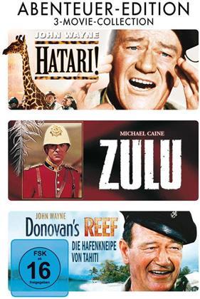 Abenteuer Edition - Hatari! / Zulu / Donovan's Reef (3 DVDs)