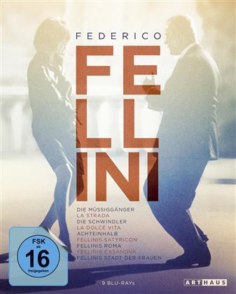 Federico Fellini (Arthaus, 9 Blu-rays)