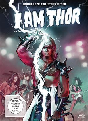 I am Thor - Jon Mikl Thor (2015) (Mediabook, Blu-ray + DVD)
