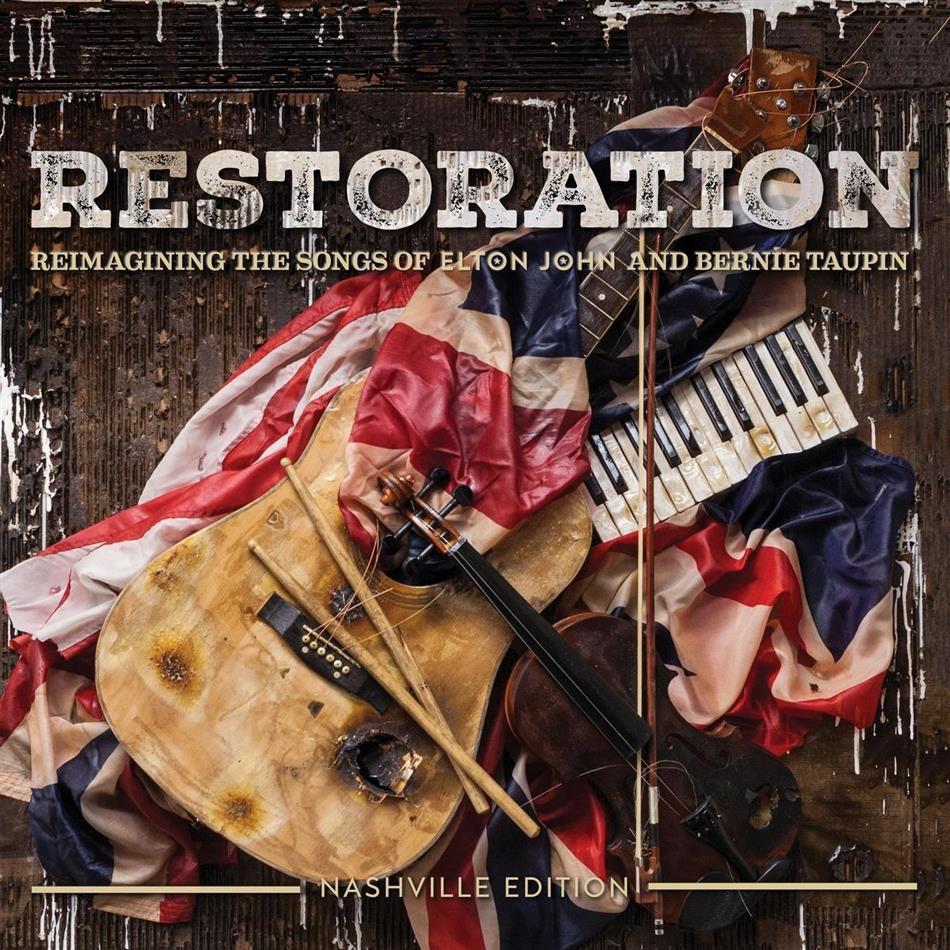 Elton John & Bernie Taupin - Restoration: Reimagining Songs Elton John & Bernie Taupin