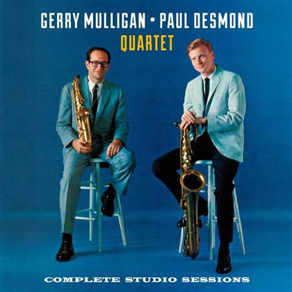 Gerry Mulligan - Complete Studio Sessions (Remastered, 2 CDs)