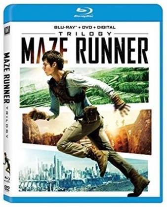 Maze Runner Trilogy (3 Blu-rays)