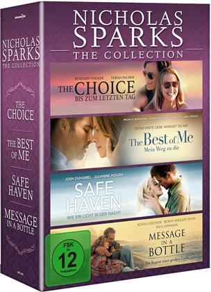 Nicholas Sparks: The Collection - The Choice / The Best of Me / Safe Haven / Message in a Bottle (4 DVDs)