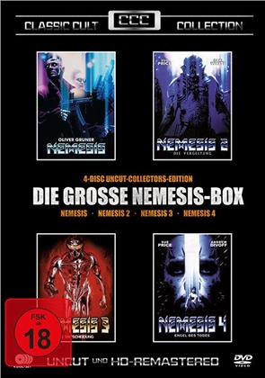 Die grosse Nemesis-Box 1-4 (1992) (Classic Cult Collection, Collector's Edition, Remastered, Uncut, 4 DVDs)