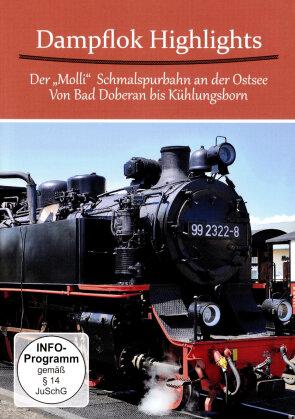 Dampf Highlights - Der Molli - Schmalspurbahn an der Ostsee