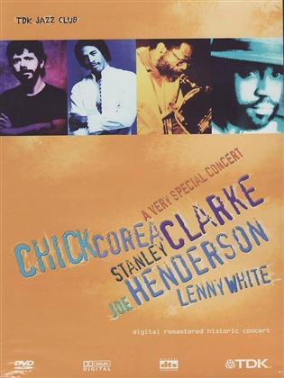 Chick Corea, Stanley Clarke, Joe Henderson & Lenny White - A Very Special Concert (TDK)