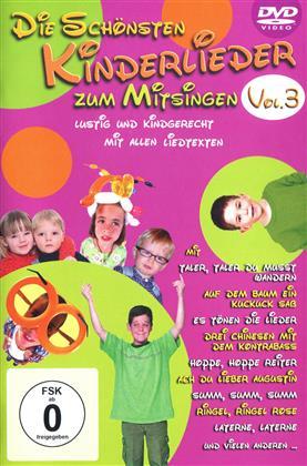 VARIOUS ARISTS - Die schönsten Kinderlieder zum Mitsingen Vol. 3