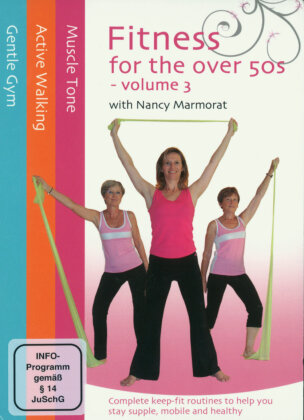 Fitness for the over 50s Volume 3 with Nancy Marmorat (3 DVDs)