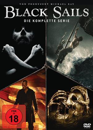 Black Sails - Die komplette Serie (15 DVDs)