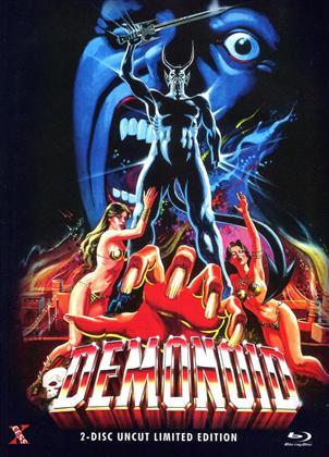 Demonoid (1980) (Cover C, Limited Edition, Mediabook, Uncut, Blu-ray + DVD)