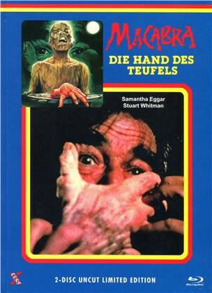 Macabra - Die Hand des Teufels (1980) (Cover A, Limited Edition, Mediabook, Uncut, Blu-ray + DVD)