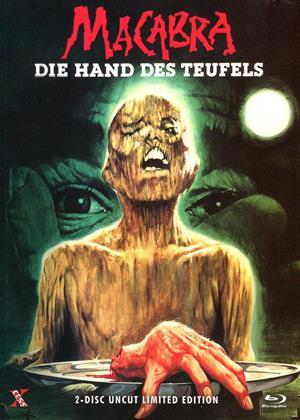 Macabra - Die Hand des Teufels (1980) (Cover B, Limited Edition, Mediabook, Uncut, Blu-ray + DVD)