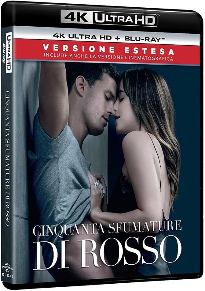 Cinquanta sfumature di rosso (2018) (Extended Edition, Versione Cinema, 4K Ultra HD + Blu-ray)