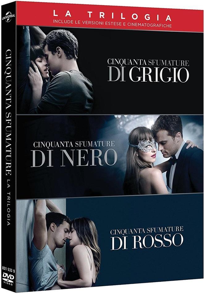 Cinquanta sfumature - La Trilogia (3 DVD)