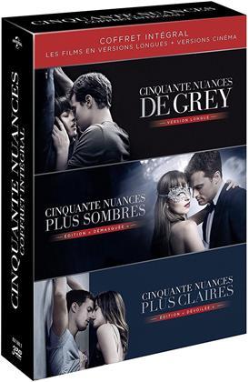 Cinquante nuances - Trilogie - Coffret intégral (Extended Edition, Kinoversion, 3 DVDs)