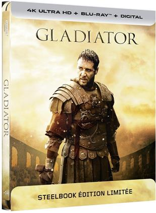 Gladiator (2000) (Extended Edition, Kinoversion, Limited Edition, Steelbook, 4K Ultra HD + Blu-ray)