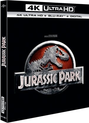 Jurassic Park (1993) (4K Ultra HD + Blu-ray)