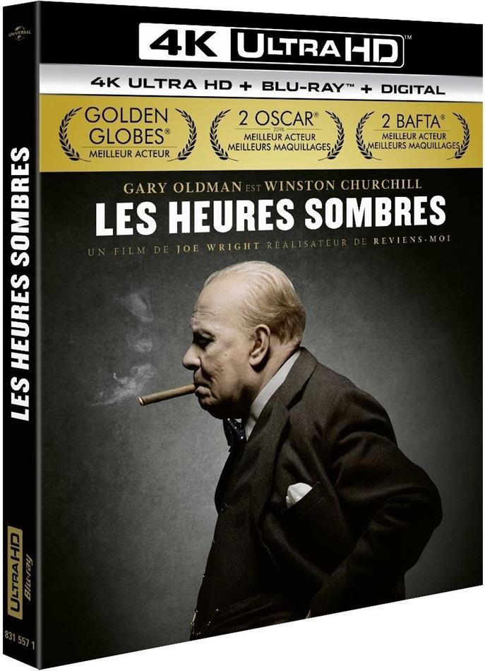 Les heures sombres (2017) (4K Ultra HD + Blu-ray)