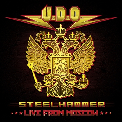 U.D.O. - Steelhammer/Live from Moscow (+ 2 CDs)
