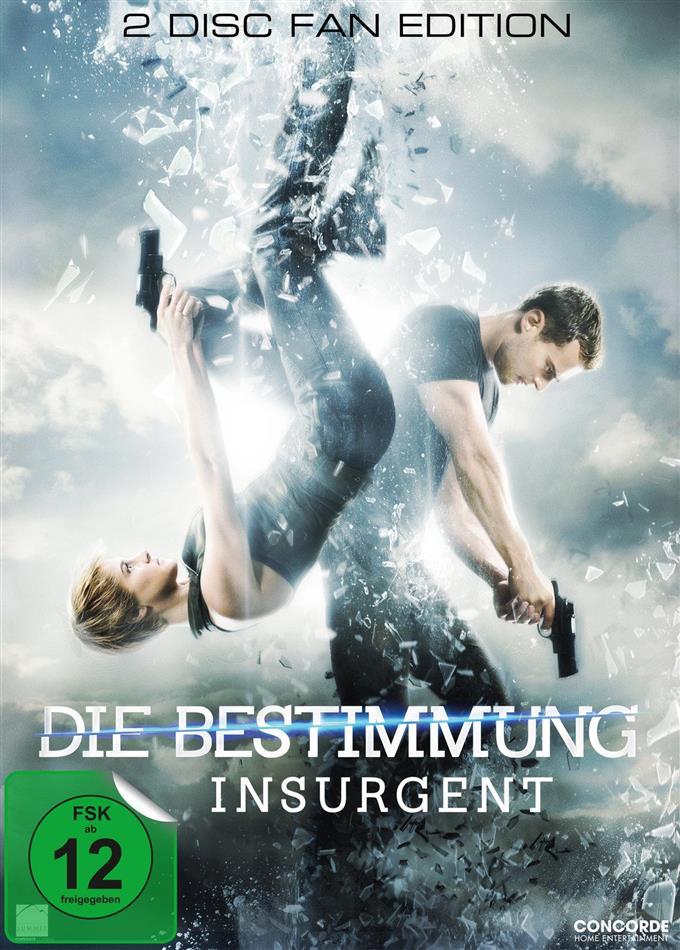 Die Bestimmung - Insurgent (2014) (Fan Edition, 2 DVDs)