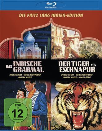 Die Fritz Lang Indien-Edition - Das indische Grabmal / Der Tiger von Eschnapur (1959) (2 Blu-rays)