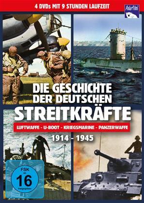 Die Geschichte der deutschen Streitkräfte - 1914 - 1945 (2002) (4 DVDs)