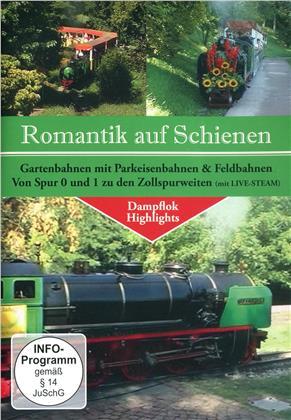 Romantik auf Schienen - Gartenbahnen mit Parkeisenbahnen & Feldbahnen