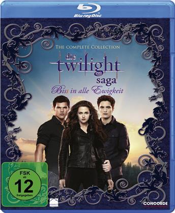 Twilight Saga - The Complete Collection Teil 1-5 (6 Blu-rays)
