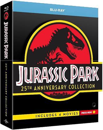 Jurassic Park Collection (Edizione 25° Anniversario, Edizione Limitata, 4 Blu-ray)