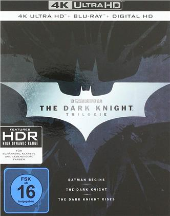 Batman - The Dark Knight Trilogy (3 4K Ultra HDs + 3 Blu-rays)