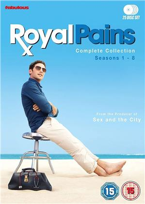 Royal Pains - The Complete Collection - Seasons 1-8 (25 DVDs)