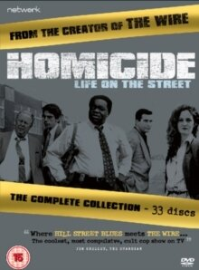 Homicide: Life on the Street - The Complete Collection (33 DVDs)