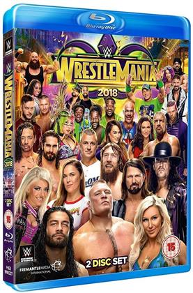 WWE: Wrestlemania 34 (2 Blu-ray)