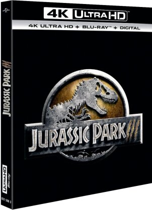 Jurassic Park 3 (2001) (4K Ultra HD + Blu-ray)