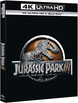 Jurassic Park 3 (2001) (4K Ultra HD + Blu-ray)