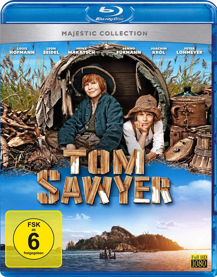 Tom Sawyer (2011) (Majestic Collection, Blu-ray + DVD)
