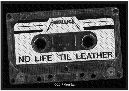 Metallica Standard Patch - No Life 'Til Leather (Loose)