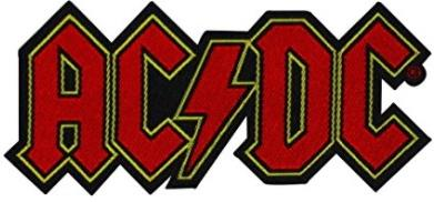 AC/DC Standard Patch - Logo Cut-Out (Loose)