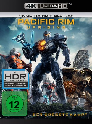 Pacific Rim 2 - Uprising (2018) (4K Ultra HD + Blu-ray)