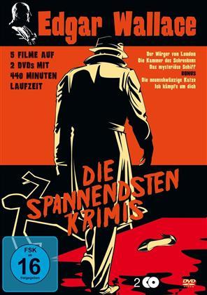 Edgar Wallace - Die spannendsten Krimis (2 DVDs)