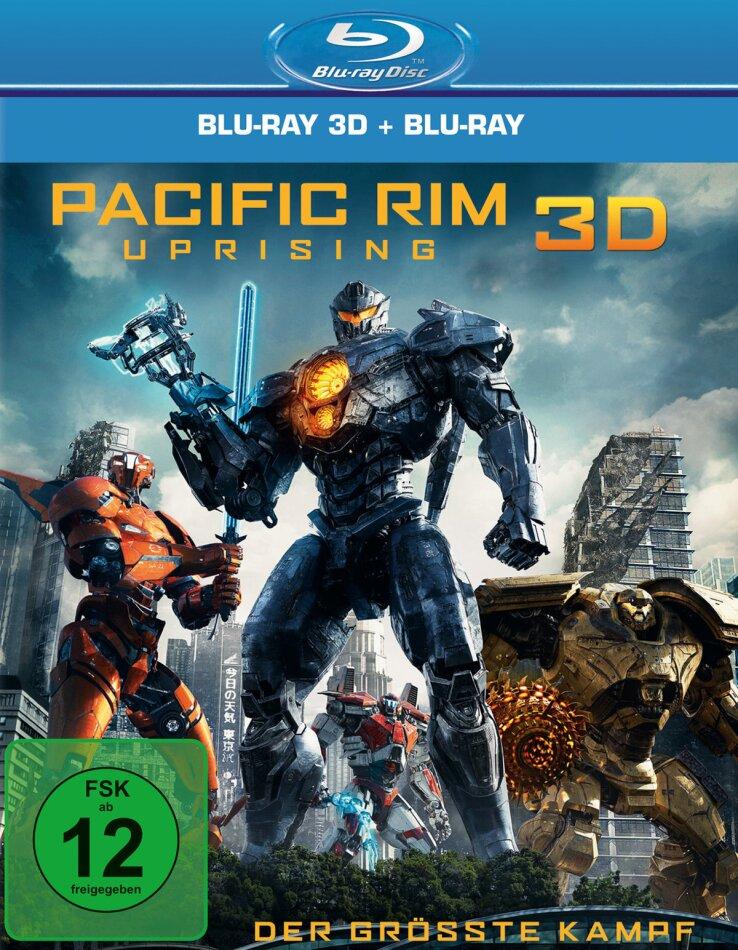 Pacific Rim 2 - Uprising (2018) (Blu-ray 3D + Blu-ray)